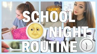 Repeat youtube video Back To School Night Routine 2016-2017 | My REAL Night Routine For School 2016!