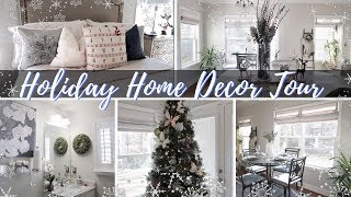 NEW HOUSE TOUR 🎄HOLIDAY HOME DECOR 🎄MINIMAL HOME STYLING IDEAS