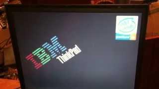 видео Не включается ноутбук Леново ThinkPad T61. Ремонт северного моста после падения