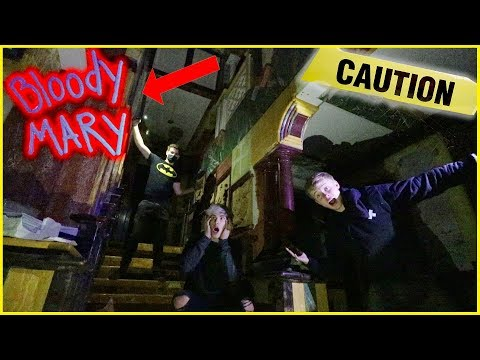 EXPLORING DARK BEACH MANSION (Murder Scene?!)