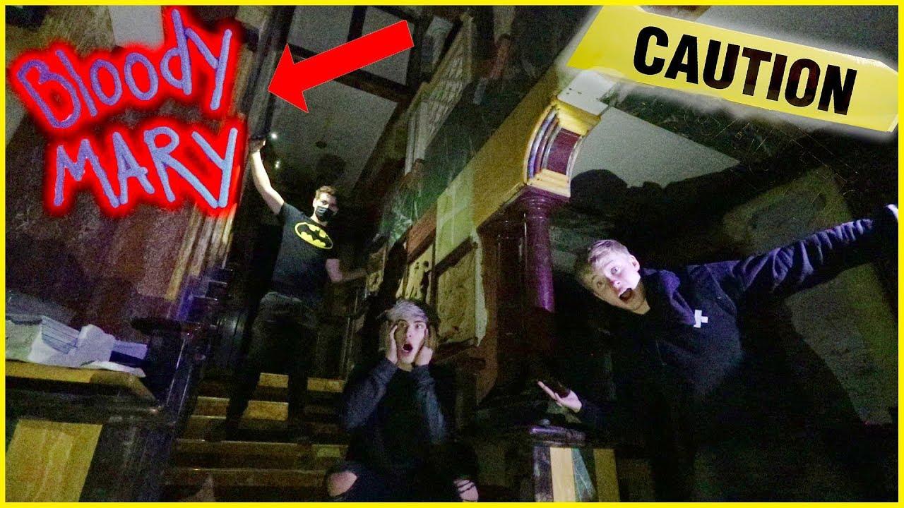 EXPLORING DARK BEACH MANSION (Murder Scene?!) - YouTube