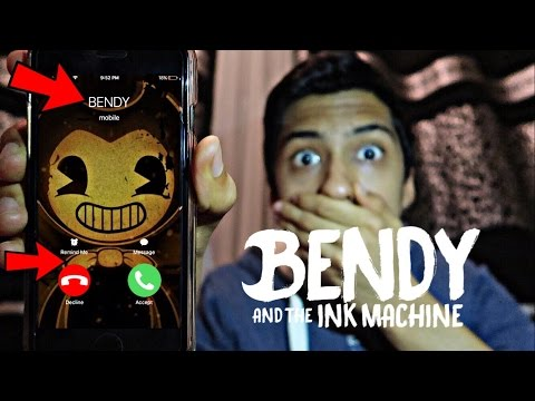 CALLING BENDY *OMG HE ACTUALLY ANSWERED*