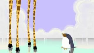Avez-Vous Déjà Vu ? - Une girafe qui passe son permis pingouin