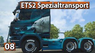 ETS2 SPEZIALTRANSPORT 🚚 NEUER SCHWERLAST LKW ► #8 Euro Truck Simulator 2 DLCs deutsch