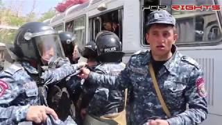 «սիկտիր արա էդ կամեռան»․ ոստիկանները պաշտպանվում են տեսախցիկներից