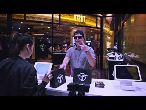 Tiësto Pop-Up Store, EDC and Wet Republic, Las Vegas 2017