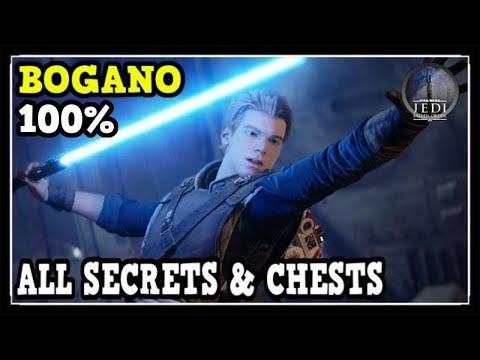 Jedi Fallen Order Bogano All Secrets & Chests Locations (100% Collectibles Guide)