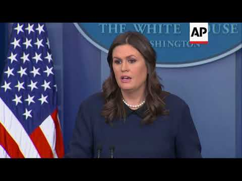 White House comments on immigration meeting, possible Oprah 2020 campaign
