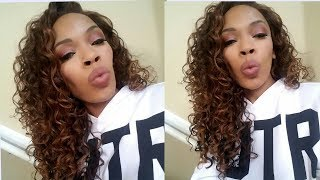 Why yall sleepin on this $15_ wig? Cut the lace and go Slay|Zury Sis Beckie Wig| Beautiful 3A curls