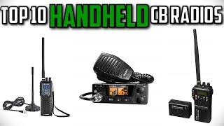 10 Best Handheld CB Radios In 2019