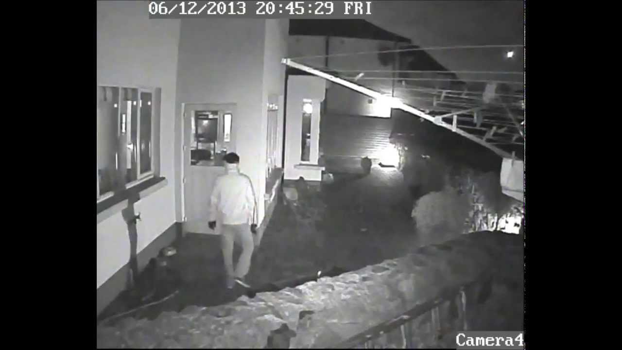 Burglary caught on CCTV 6122013 Dublin Ireland  YouTube