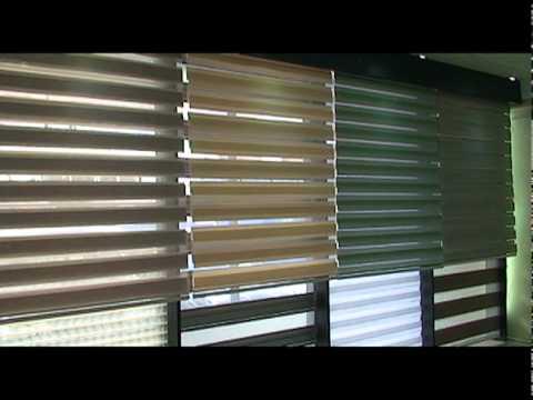Luxury ec cortinas zebra quito ecuador luxury youtube for Cortinas para dormitorio quito