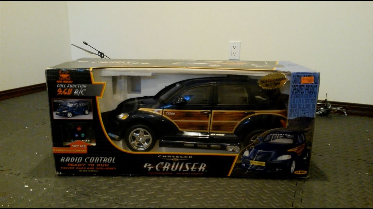 New Bright Rc Chrysler Pt Cruiser Model 6646 Unboxing Review You