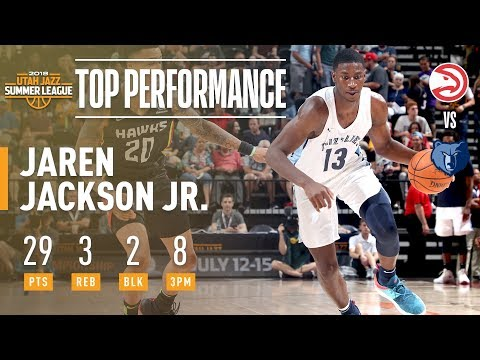 Jaren Jackson Jr. vs. Scores 29 Pts. In 2018 NBA Summer League Debut