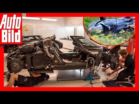 Koenigsegg One:1 Crash – der Grund! Review/Test AUTO BILD Quick Shot ...