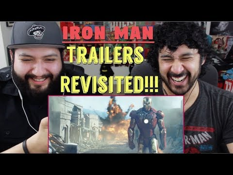 Marvel Studios' IRON MAN (2008) - TRAILERS REVISITED!!! (How Accurately Portrayed Was The Movie?!)