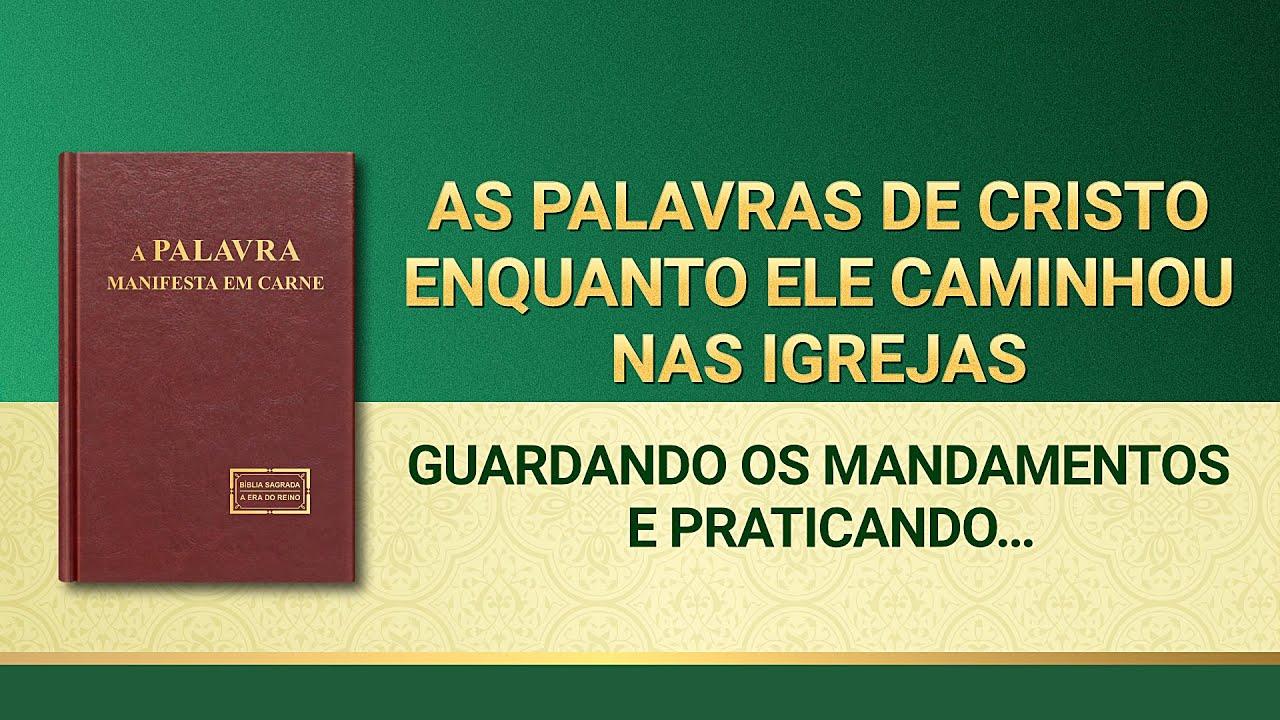 """Palavra de Deus """"Guardando os mandamentos e praticando a verdade"""""""
