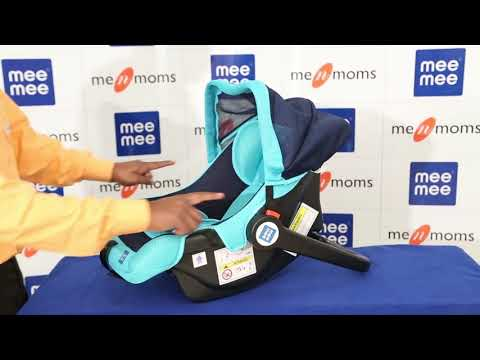 3 in 1 Baby Car Seat, Carry Cot & Rocker