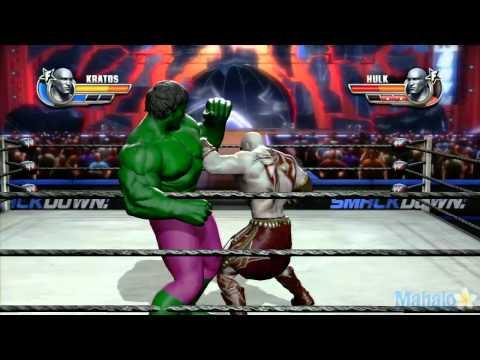 WWE All Stars Grudge Match - Kratos Vs. The Hulk