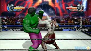 WWE All Stars Grudge Match - Kratos Vs. The Hulk