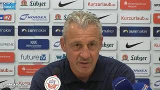 Pressekonferenz vor dem Heimspiel gegen den SV Werder Bremen II