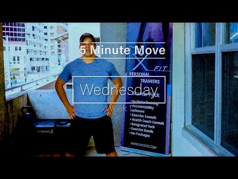 Chest and Arms - Exercise Bands -  Minute Move - Wednesday