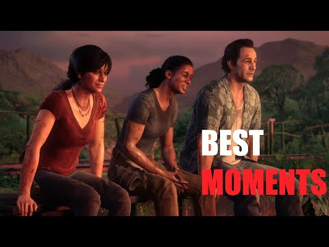 Chloe Nadine & Sam Best moments - Uncharted : The Lost Legacy