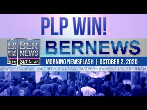 Bermuda Newsflash For Friday, Oct 2, 2020