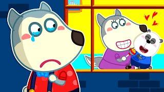 Download Mami ya no ama a Wolfoo - No Sean Celosos con Amigos | Videos Para Niños | Bebé Wolfoo