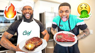 Cash Or Flight...Who Can Cook The Best Steak?!