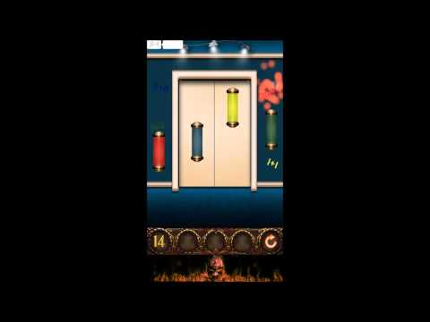 100 Doors Hell Prison Escape Level 14 - Walkthrough