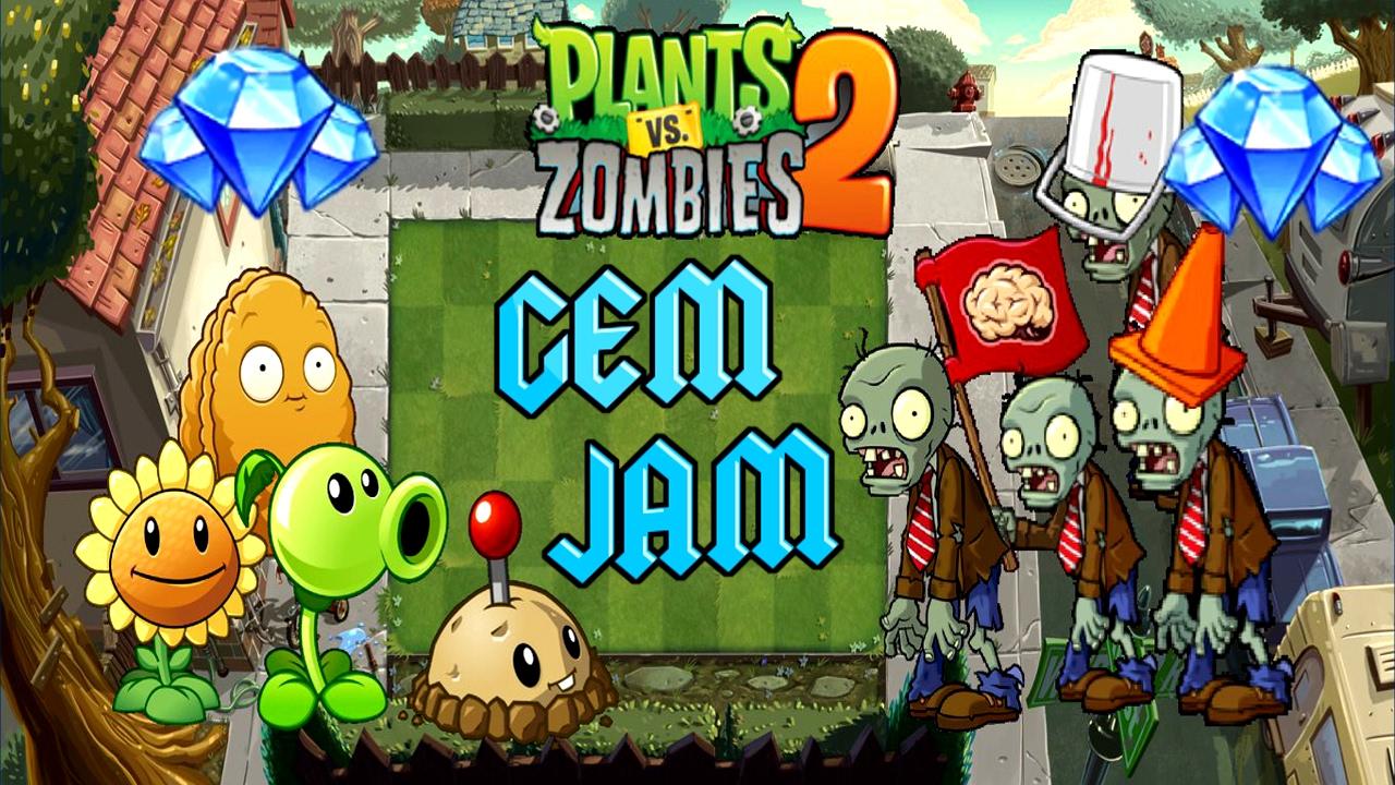 Plants Vs Zombies 2 Epic Quest Gem Jam All Steps 1 To 10