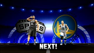 NBA 2K14 San Antonio Spurs vs. Golden State Warriors PS3