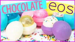 edible eos lip balm chocolates by cupcakes and cardio
