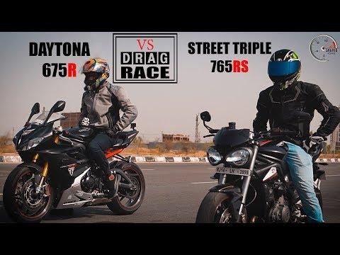 Daytona R VS Street triple RS