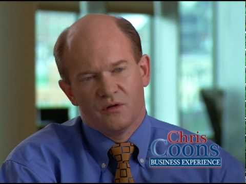 Chris Coons talks about jobs in new TV ad