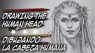 COMO DIBUJAR LA CABEZA HUMANA  por Sonia Mª Corral - HOW TO DRAW HUMAN HEAD