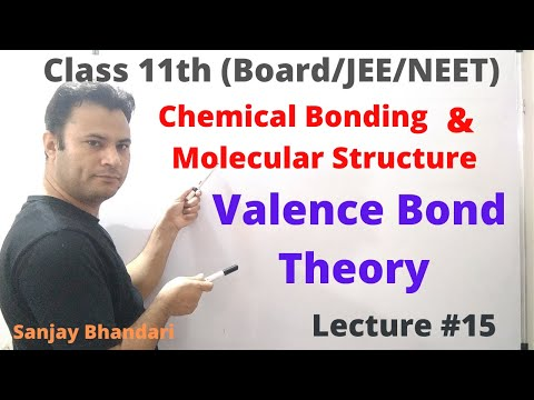 Chemical Bonding and Molecular Structure #15 | Valence Bond Theory | VBT | Energy Concepts