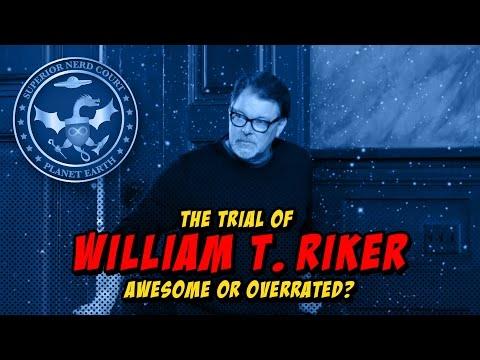 The Trial of Star Trek's William T. Riker  Nerd Court ft. Jonathan Frakes
