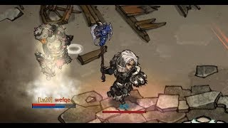 Internal raid test with updated character animation & effects - Mad World MMORPG 2019 HTML5