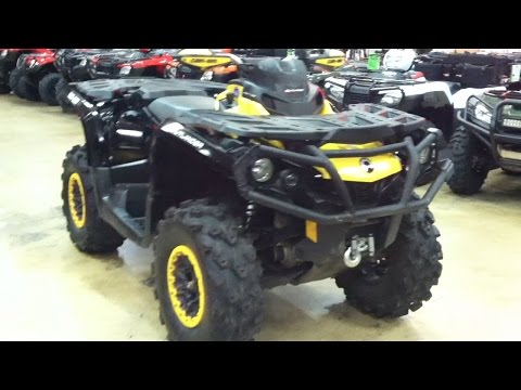 2014 Can-Am Outlander 1000 Max XTP