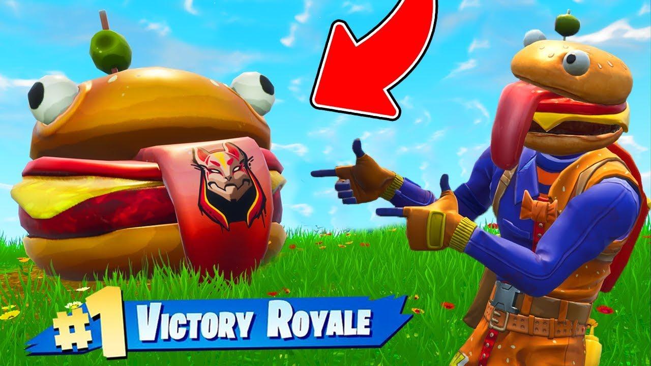 The Durr Burger Challenge In Fortnite Battle Royale