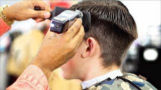 HAIRCUT TUTORIAL: CLIPPER OVER COMB TECHNIQUE