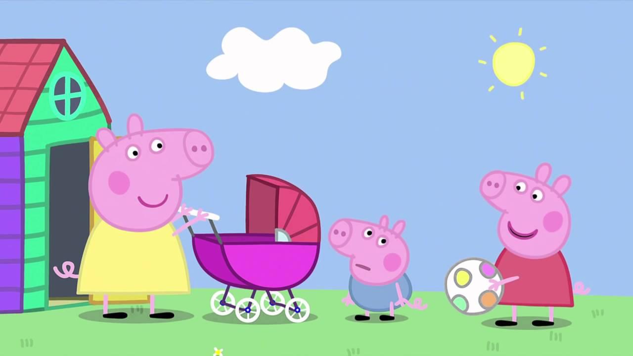 Peppa Pig - The Baby Piggy (31 episode / 2 season) [HD]
