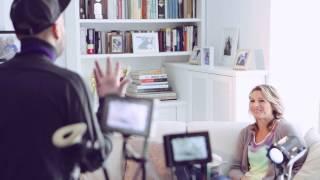 Ági Kovács -- 'Making-of' TEEKANNE TV-Spot Ungarn