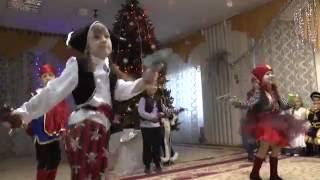 Разбойники Бременские музыканты дети выступают новогодний утренник 2016 в детском саду