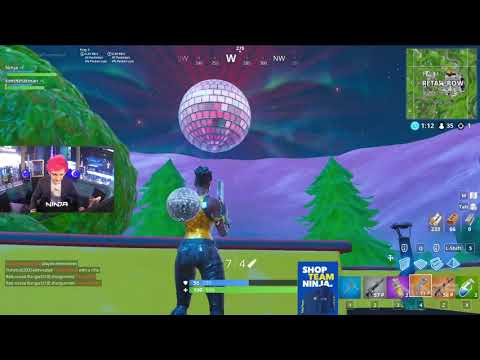 Ninja And Tim React To New Years Fortnite Event (FINLAND And 31 More)!