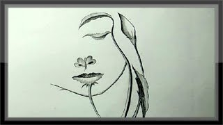 pencil drawings easy simple drawing step face paintingvalley