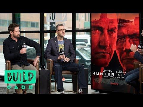 """Gerard Butler & Donovan Marsh Talk """"Hunter Killer"""""""