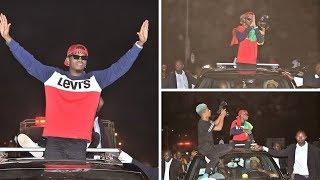 Mapokezi ya Guinea Bissau yamshangaza Diamond, KUFURU!, 'Fikiria hawaongei Kiswahili au  Kiingereza'